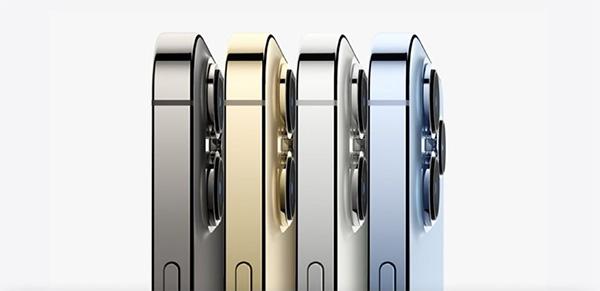 Các tùy chọn màu sắc trên iPhone 13 Pro.