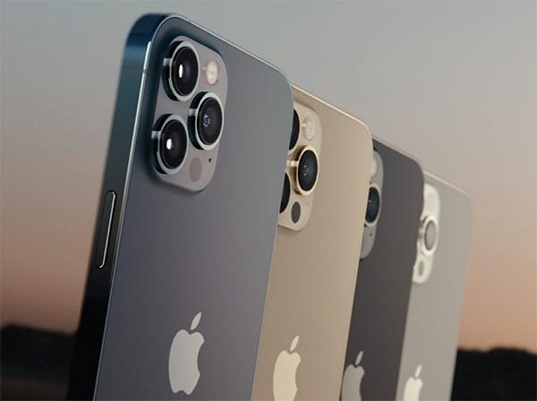 Các màu sắc trên iPhone 12 Pro.