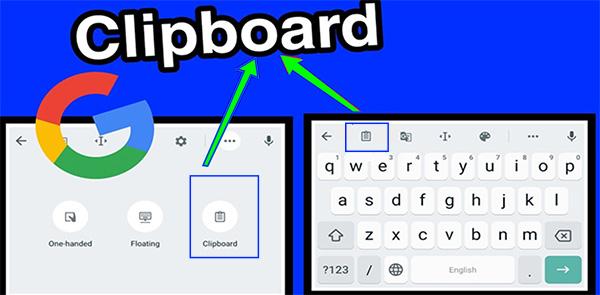 Bộ nhớ tạm thời (Clipboard) trên điện thoại