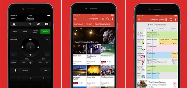 Ứng dụng điều khiển tivi bằng điện thoại qua ứng dụng TV SideView