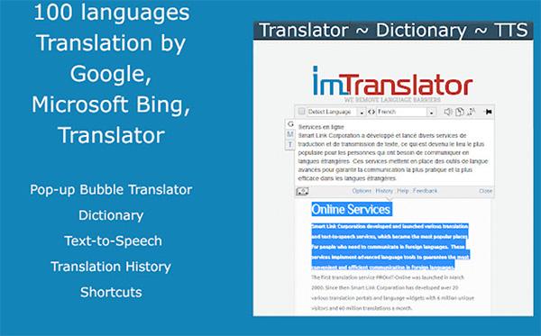 Website đọc văn bản tiếng Anh Online text-to-speech.imtranslator.net