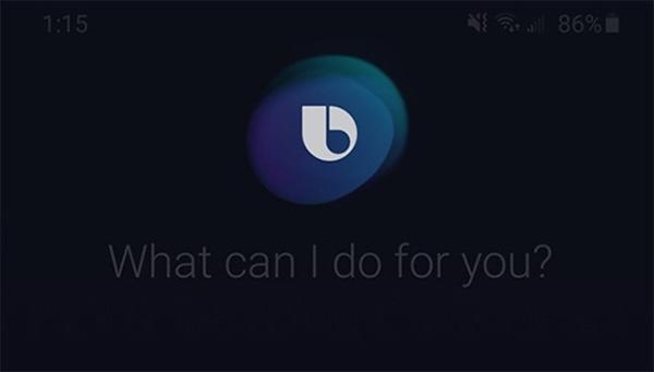 Tắt nguồn điện thoại Samsung bằng Bixby