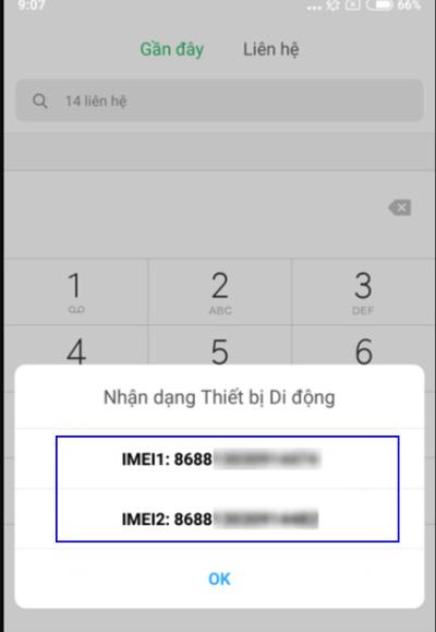 Tra số iMei bằng tra cứu *#06# (1)
