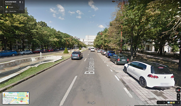 Ứng dụng chụp ảnh 360 độ Google Street View