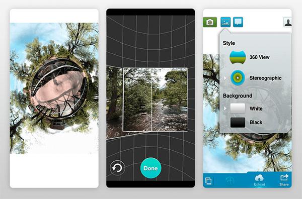 Ứng dụng chụp ảnh 360 độ Fyuse - Ảnh 3D (Android)